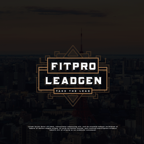 Logo Design Entry for Fitpro Leadgen