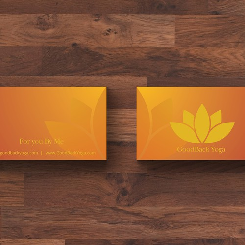 Business Card for yoga instructor