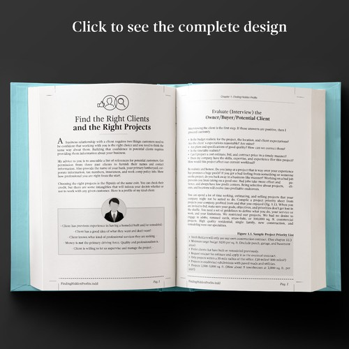 Book layout for Real States