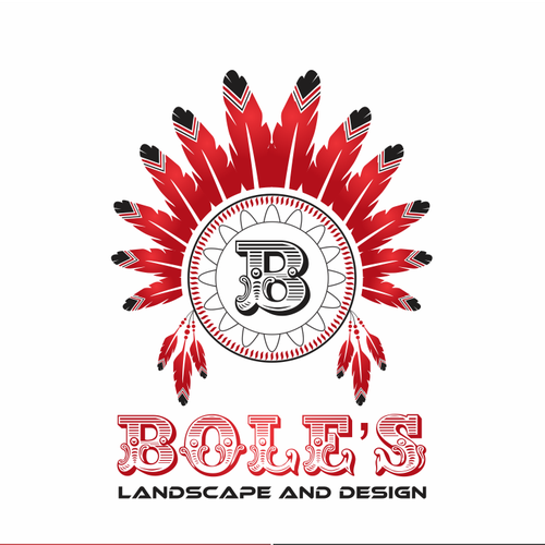 Bole's Landscape and Design needs a new logo and business card