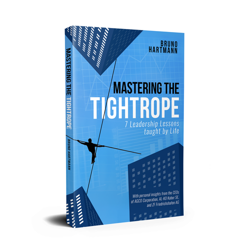 "Book Cover for ""Mastering The Tightrope"""