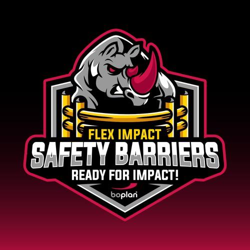 Safety Barriers Logo Design