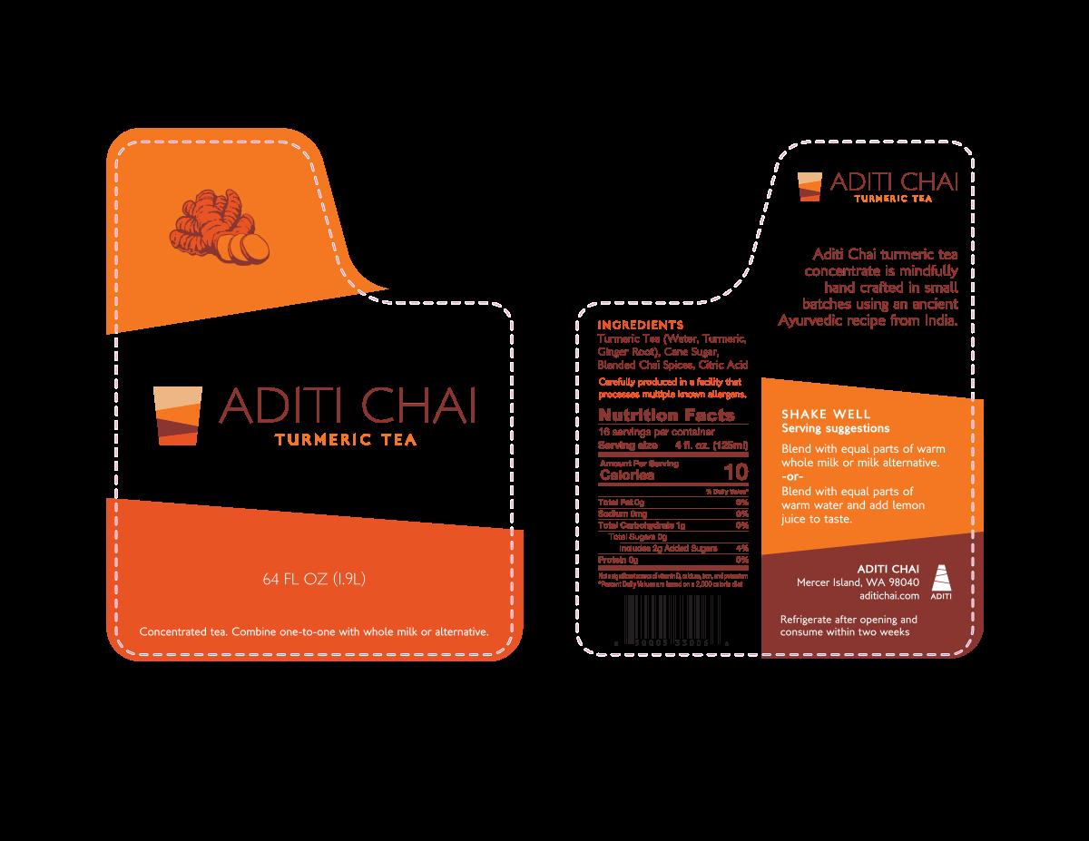 Packaging for Aditi Chai
