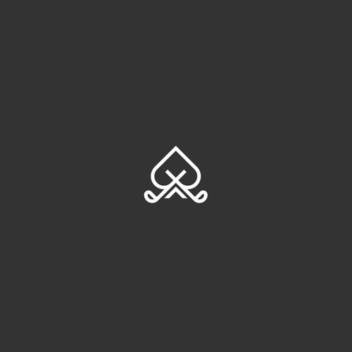 golf poker logo