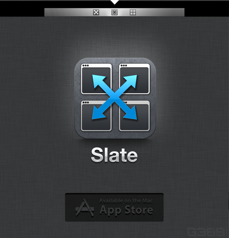 Slate needs a new icon or button design
