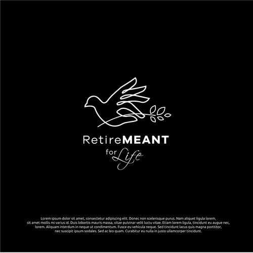 logo concept for retiremeant