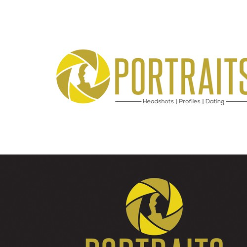 Logo Concept for PORTRAITS