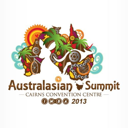logo for IMBA-Au Australiasian Summit 2013