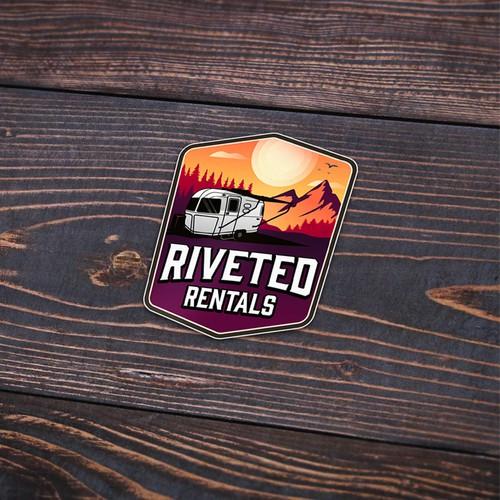 Riveted Rentals logo finalist