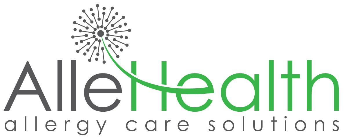 Create a logo for a new allergy company called AlleHealth