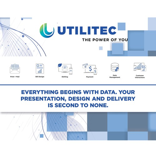 Booth graphic needed for utility trade show winner