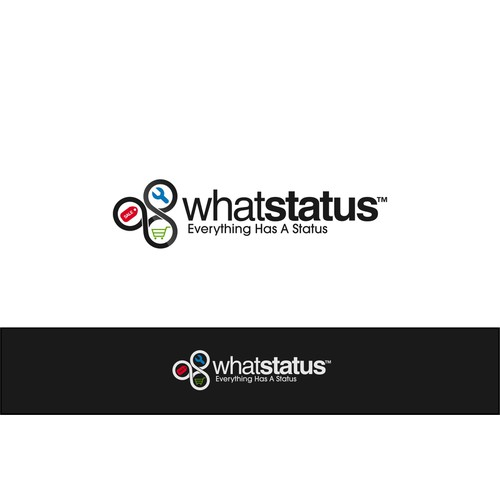 New Logo for WhatStatus - E-Commerce, Social Media for the internet of things.