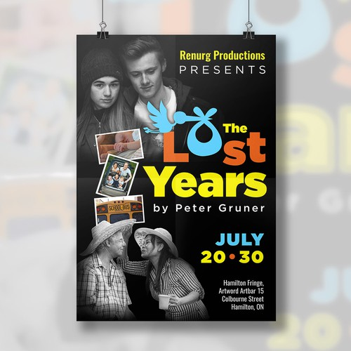 Poster - The Lost Years