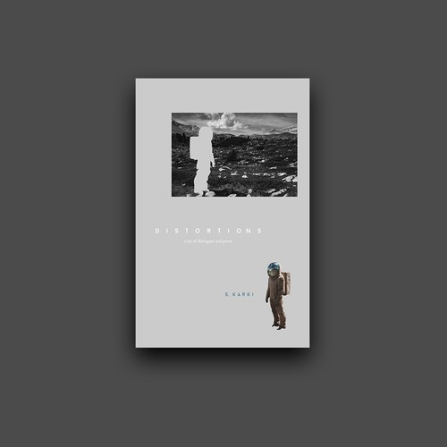 Cover for nonfiction book with poetry