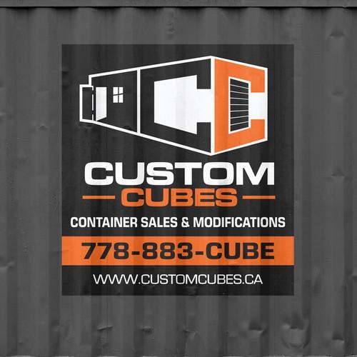Advertising Sticker For Custom Cubes
