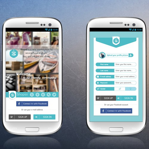Appdesign - marketplace for second hand products