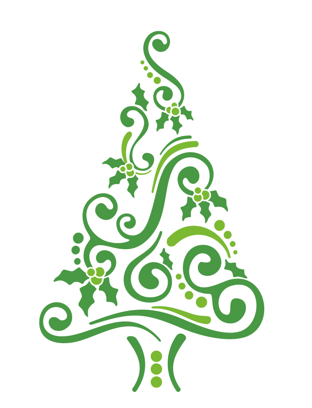 Christmas tree illustration/design original art needed