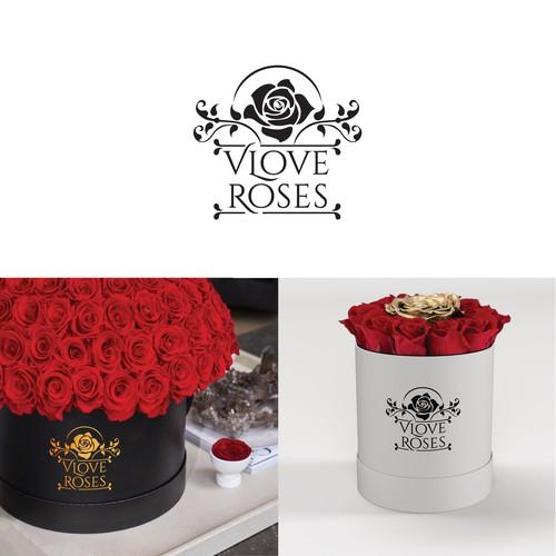 Luxury Real Roses startup needs logo