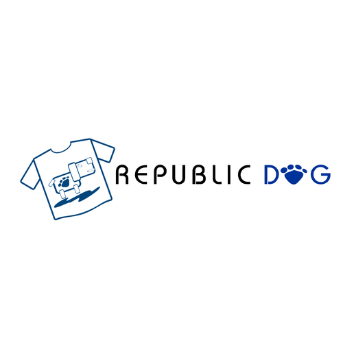 Logo for a site selling t-shirts to dog owners