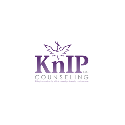 Logo and website for a counseling practice