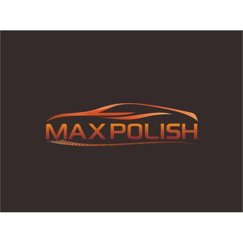 Create the next logo for Max Polish