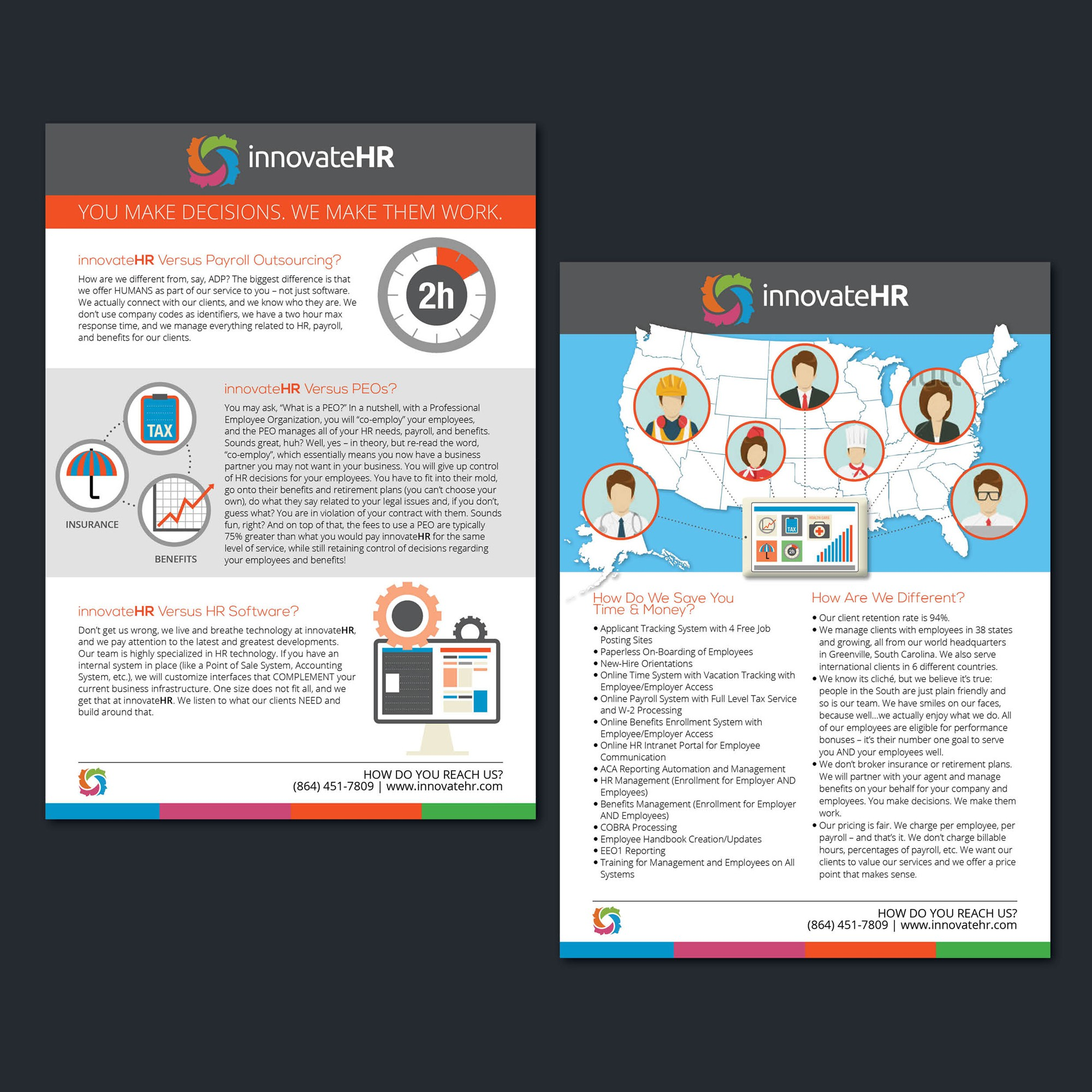 Need a Stellar Leaflet/Handout for our HR Company!