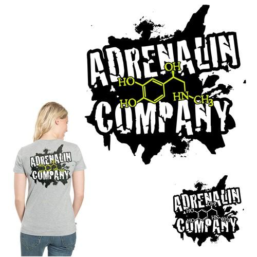 Logo mit Adrenalin