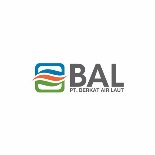 PT Berkat Air Laut, or just BAL in the logo needs a new logo