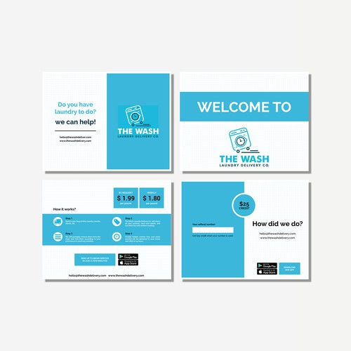 Welcome card / Promo card