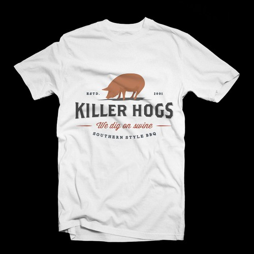 Need a T-shirt designed for BBQ Team