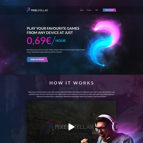 PixelStellar Web Design