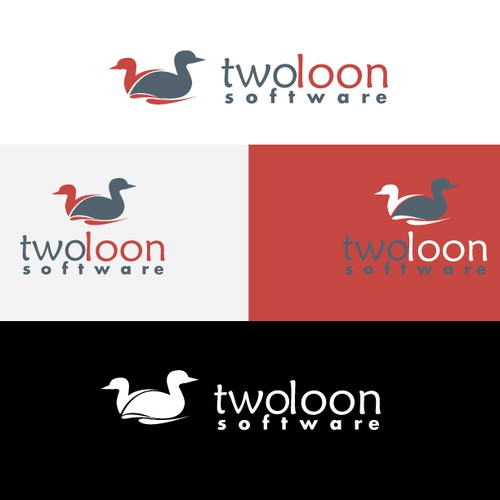 Create a winning design for Two Loon Software