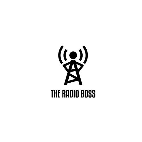 Logo design for radio boss