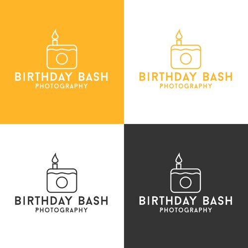 Logo Concept for Birthday Bash Photography