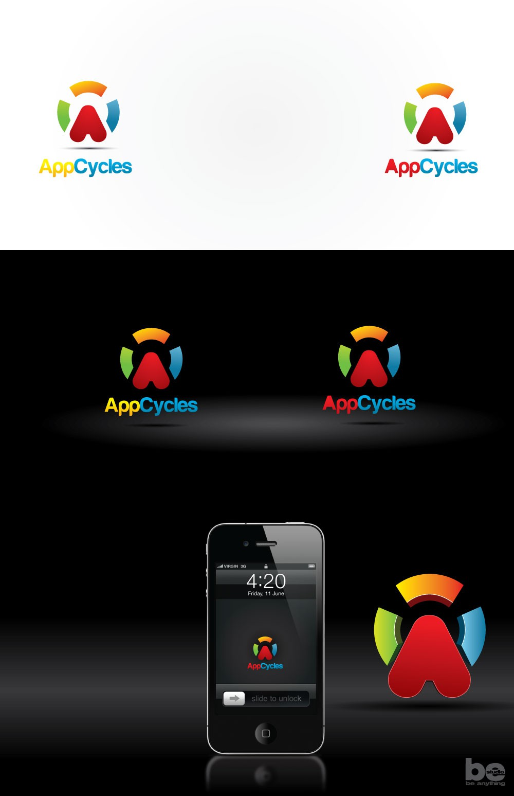 Need a brand new fun logo for AppCycles