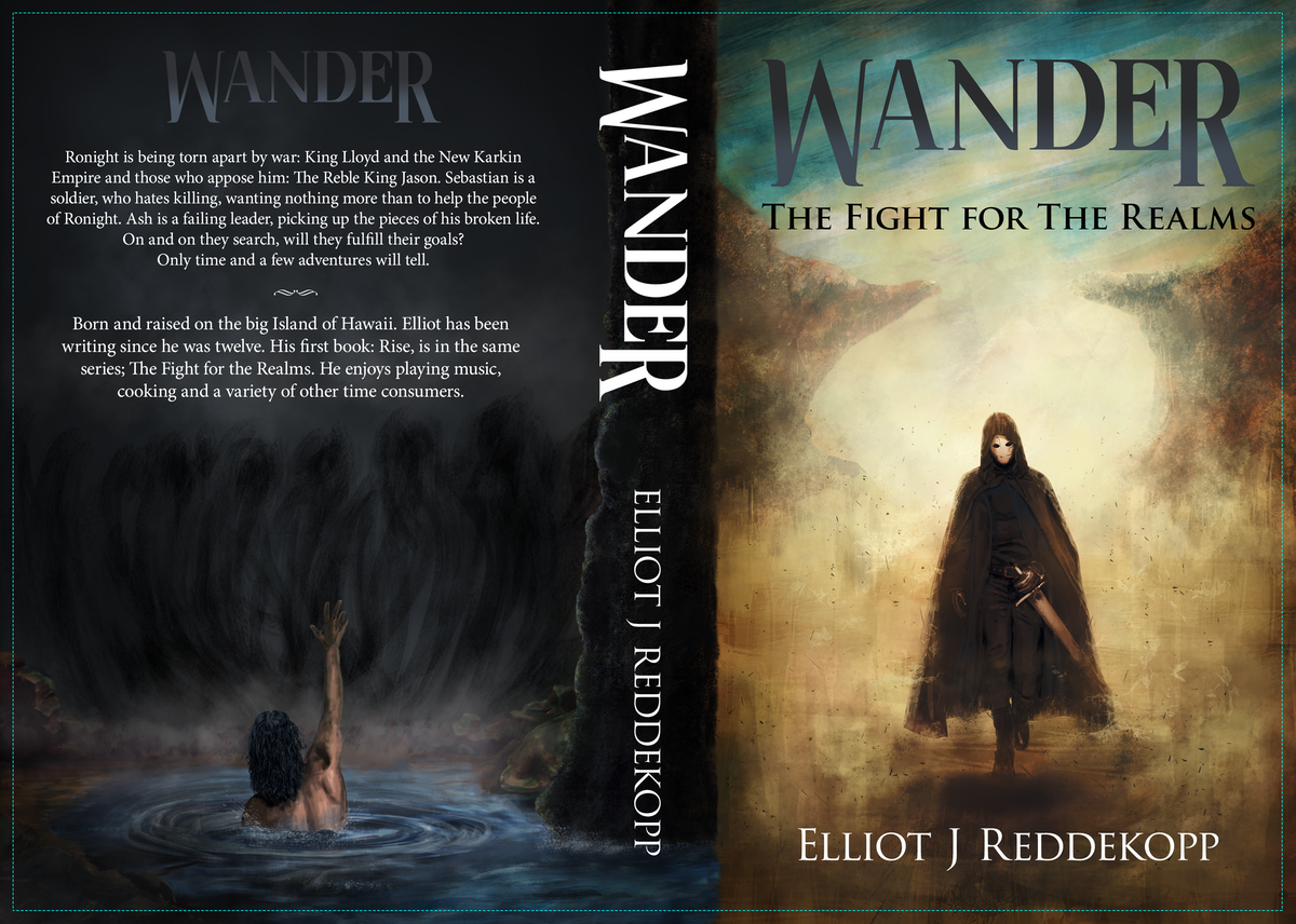 Wander: The Fight For The Realms Book Cover Contest.