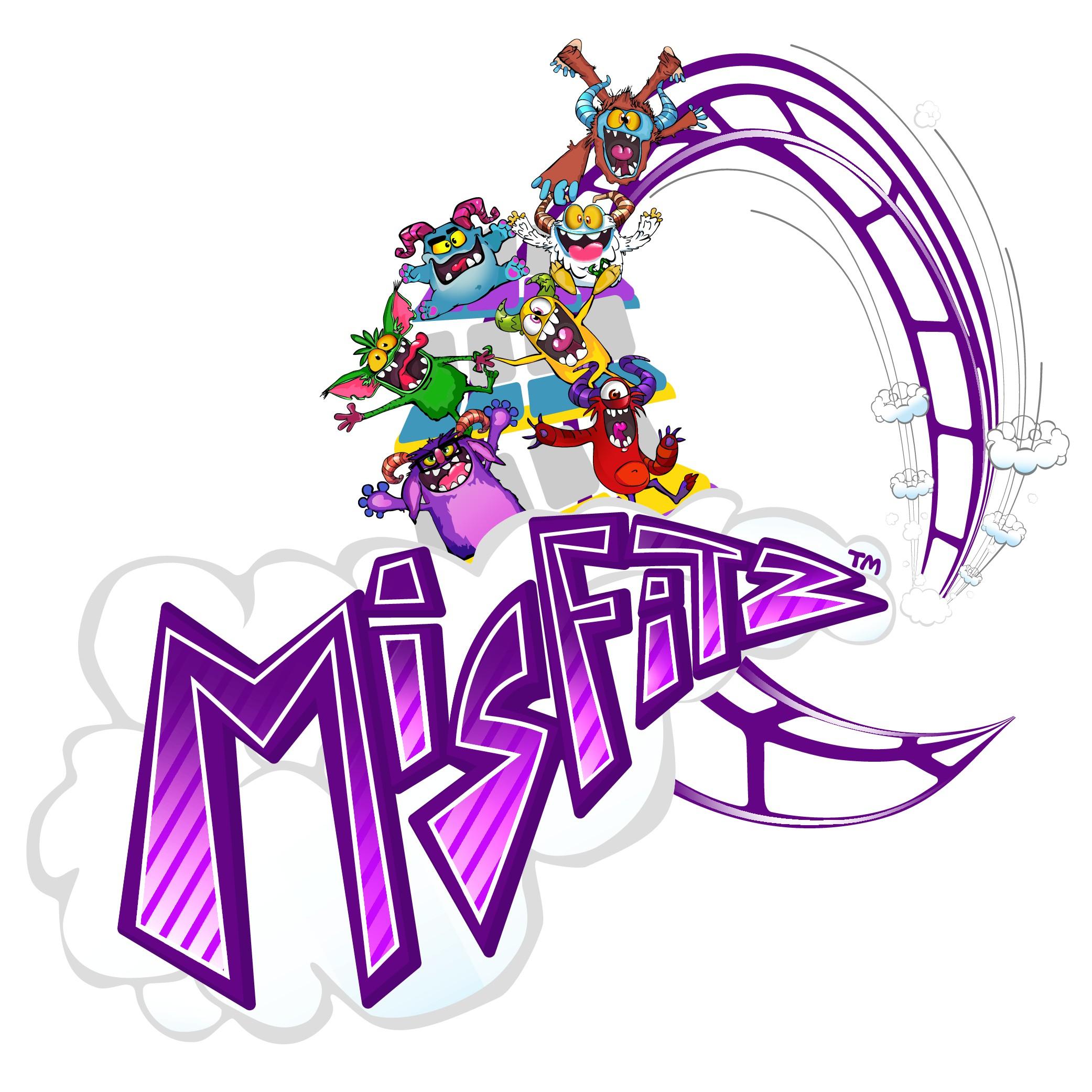 Monster toy logo design
