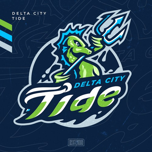 Delta City Tide  Team Logo