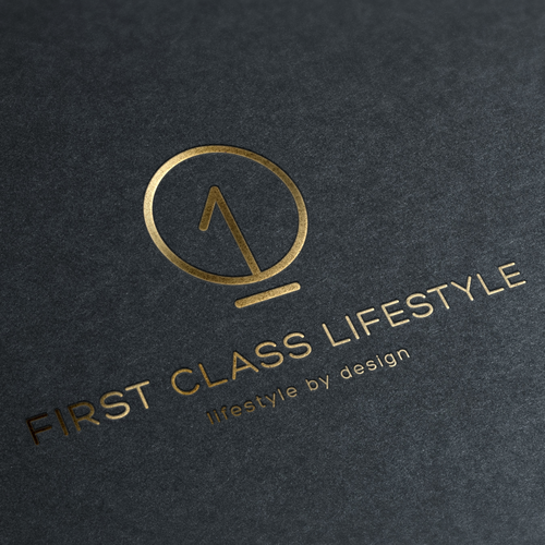 simple and luxury logo design