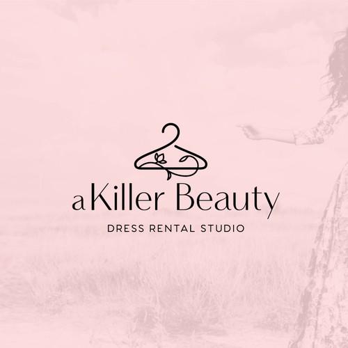 Logo for dress rental studio