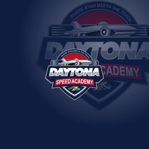 Bold logo Daytona Speed Academy