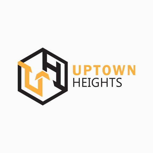Bold Logo for Uptown Heights