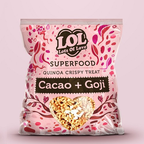 New Packaging for a Superfood Treat!