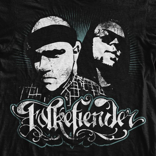 Need awesome hoodie/t-shirt design for old school Rap band!