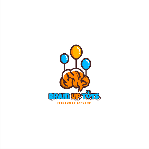 Playful logo for toy shop