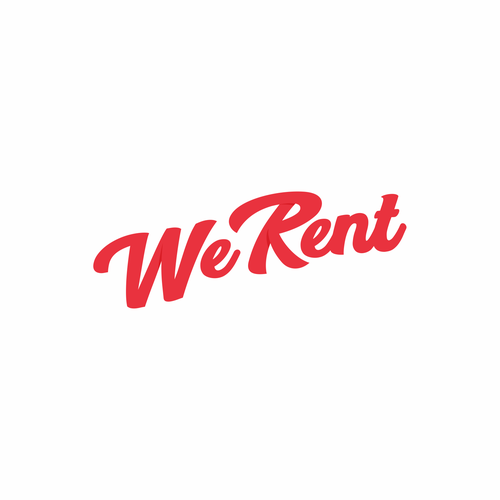 Logo for We Rent