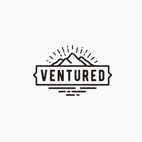 Simple Hipster Adventure Logo