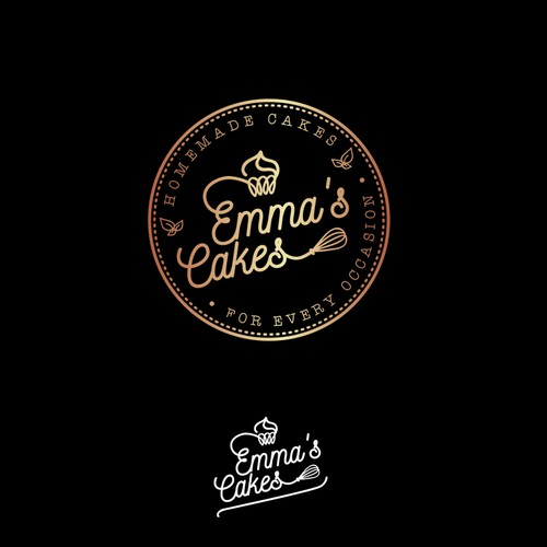 Logo for homemade cakes