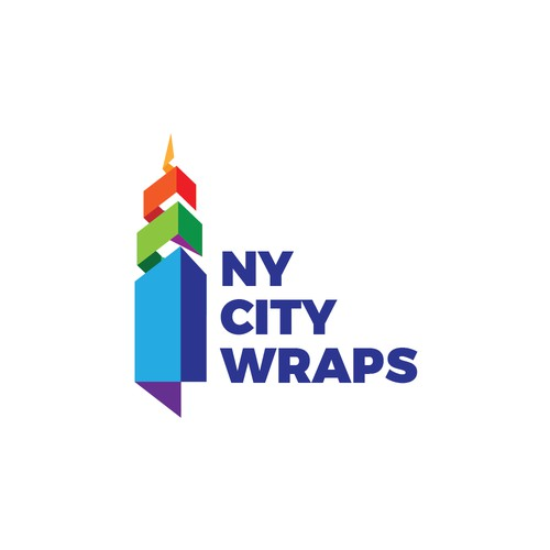 Logo concept for the vinyl wraps company based in NY.