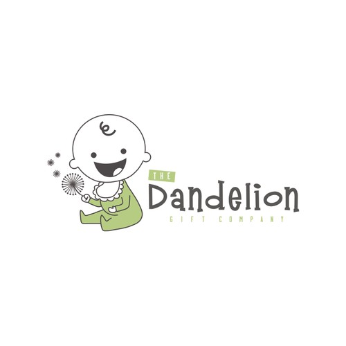 Create the winning logo design for The Dandelion Gift Company